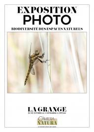 Affiche Expo photo 'biodiversité des espaces naturels'