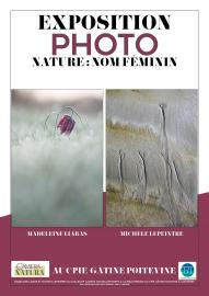 Affiche Expo photo 'Nature : nom féminin'