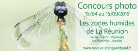 Visuel concours photo RNN Etang de Saint-Paul