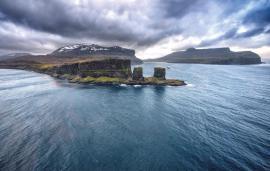 Arche des Kerguelen, îles Kerguelen © Bruno Marie