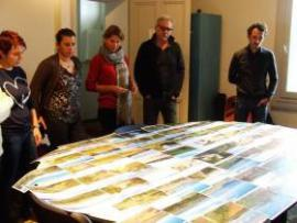 Comité technique réuni au Grand Clavelet dans les bureaux de l'Association ADENA nov2016 © RNN Bagnas