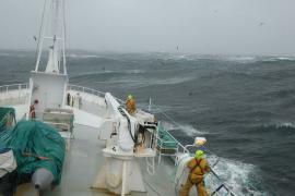 Pêche à la ligne australe, réserve naturelle des TAF - © A. Dervaux