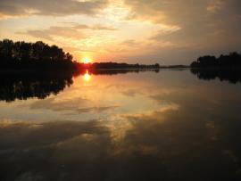 Crépuscule d'été - © RNN Val de Loire