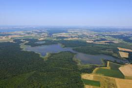 Vue aerienne du site - © J.-P. Fornet