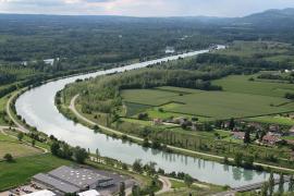 Canal de Brégnier-Cordon - © S. Batigne / Wikipedia