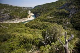 Vue des gorges - © M. Cristofani / Coeurs de nature / SIPA