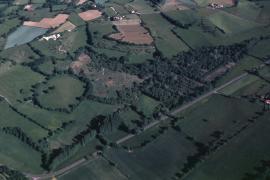 Vue aérienne du site - © RN Marais de Bonnefont