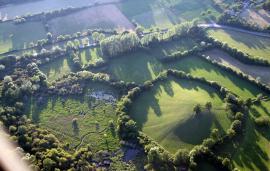 Vue aérienne de la RNR - © R.Vernhiet