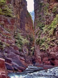 Les gorges de Daluis - © M. Royon / Wikipedia