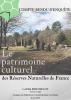 Couverture Patrimoine culturel